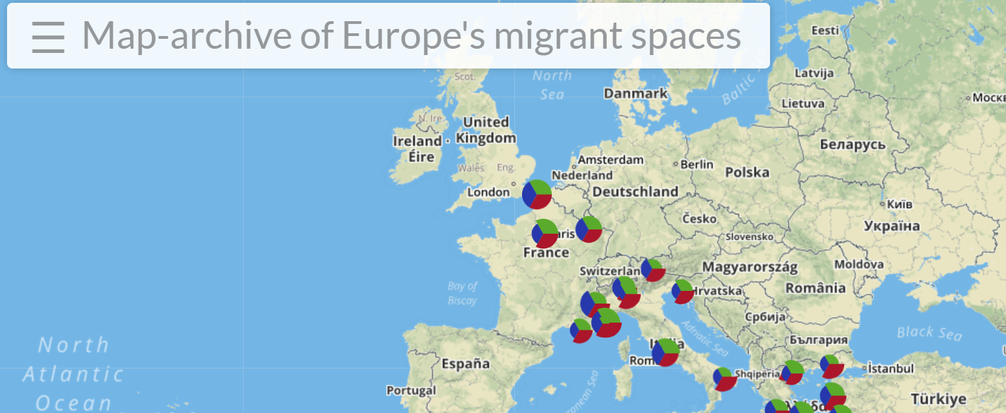 Towards a Genealogy of Europe\'s Migrant Spaces: A Map ...
