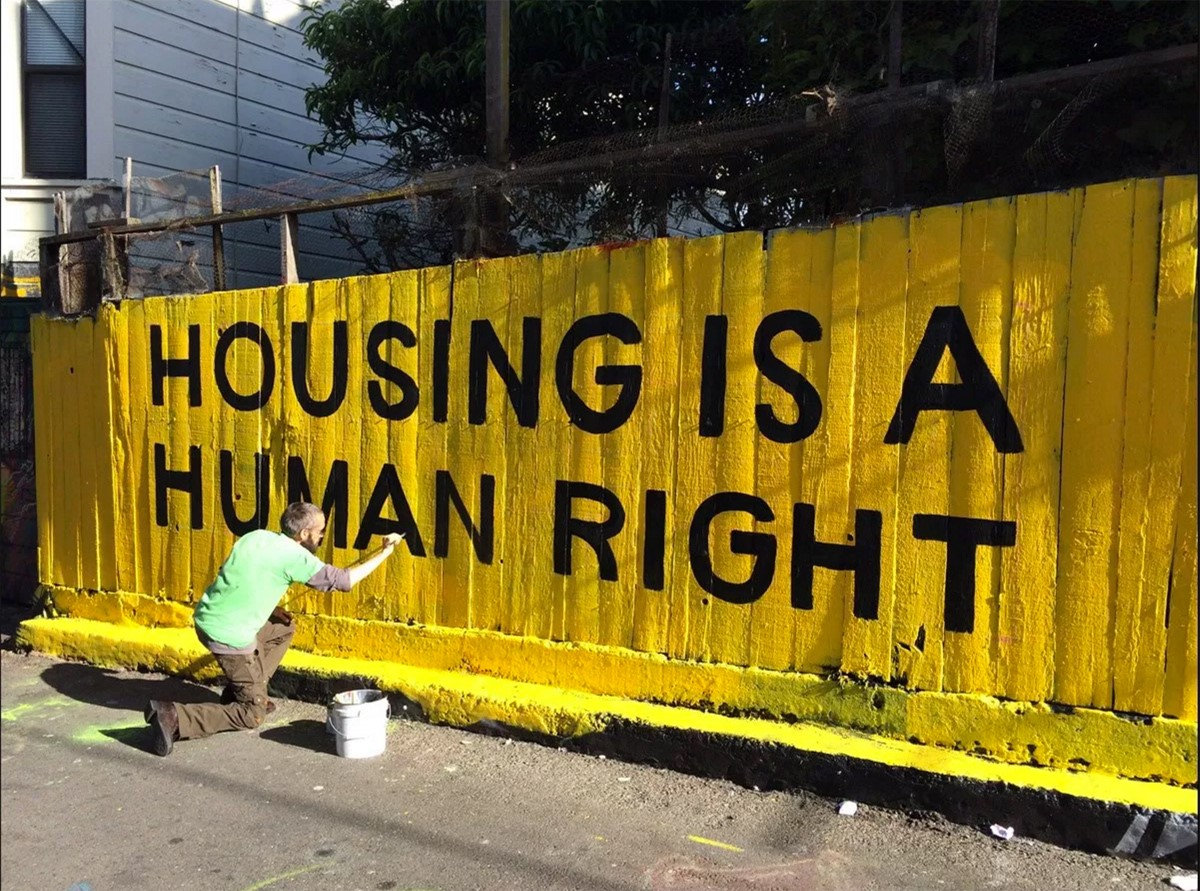 housing is a human right shirt