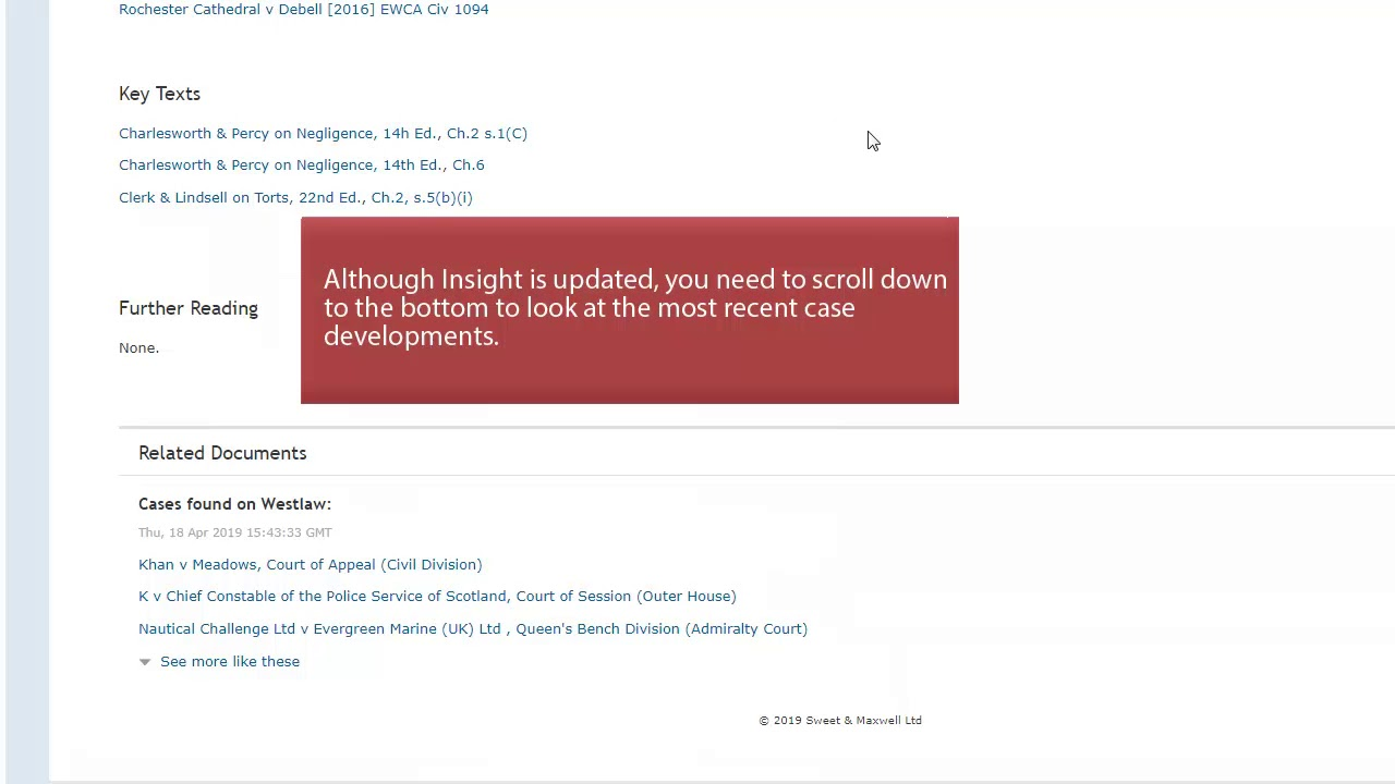 LRMSP subject searching on Westlaw