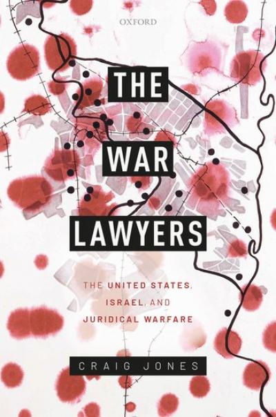 Cover of the book 'The War Lawyers'.
