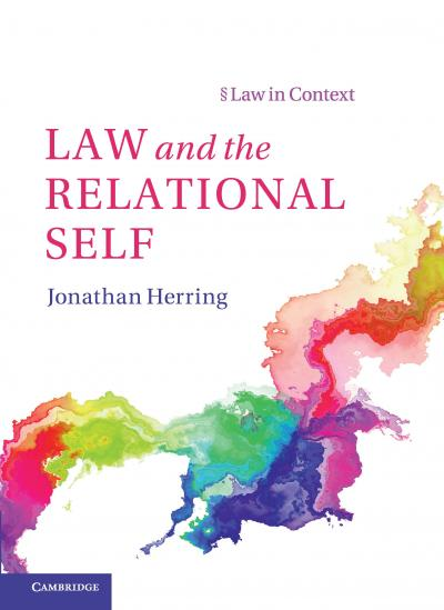 Law and the Relational Self - cover