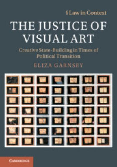 Cover of the book 'The Justice of Visual Art'.