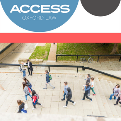 Access logo with photo of students attending a Faculty open day