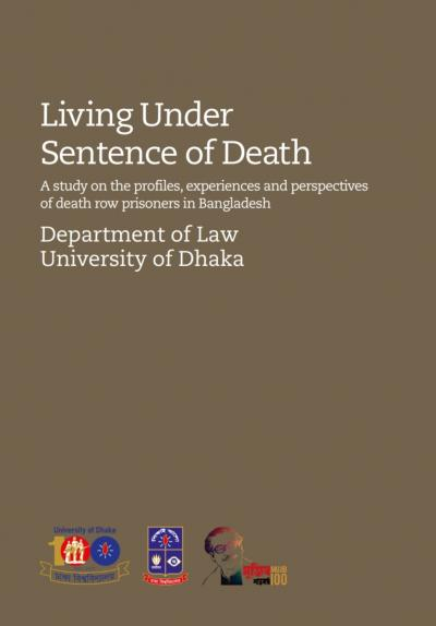 Cover of the 'Living under sentence of death' report