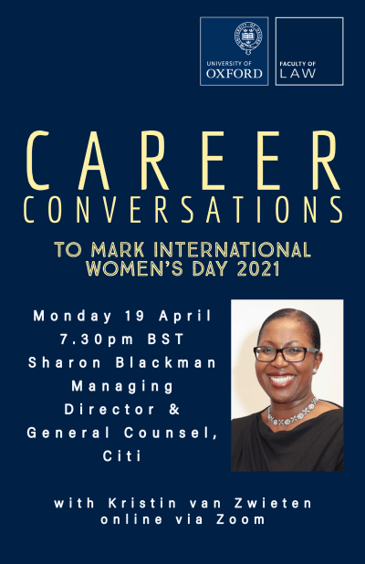 Career Conversations with Sharon Blackman