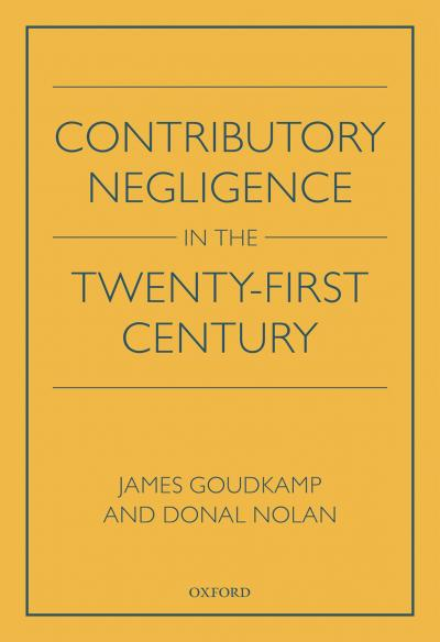 Contributory Negligence in 21st Century book cover