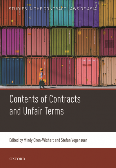 Mindy Chen-Wishart - Contents of Contracts and Unfair Terms