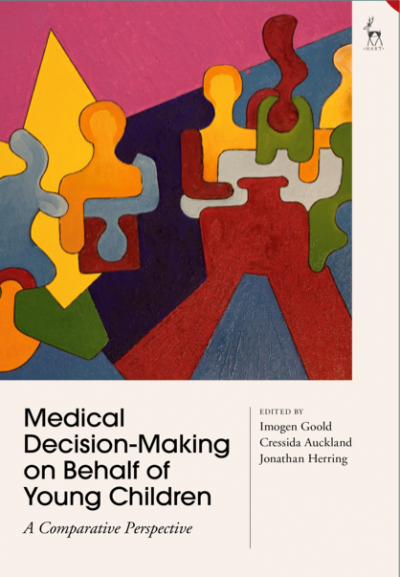 Decision making on behalf of young children - book cover