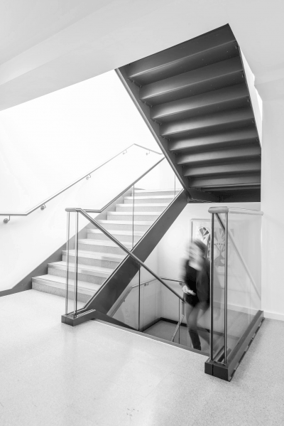 Staircase in St Cross Building