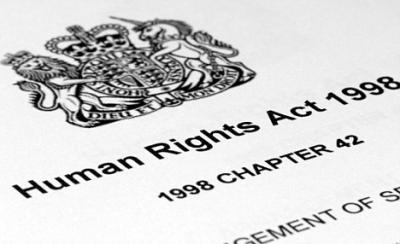 Human rights act cover
