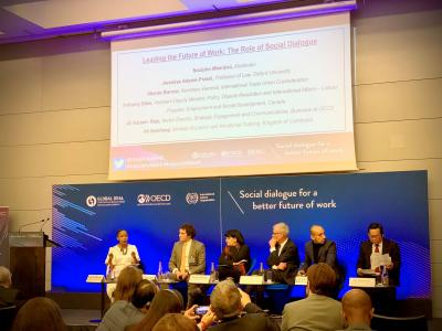 Panel at OECD conference