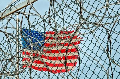 Prison Jail Detention Fence Wire Barbed Metal