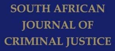 south african journal of criminal justice logo