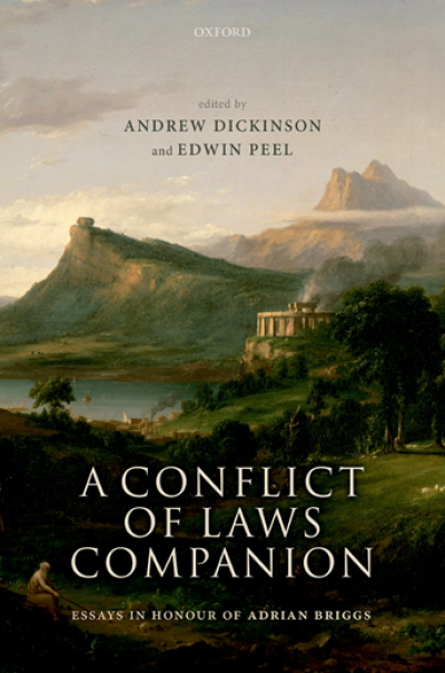 A Conflict of Laws Companion - book cover