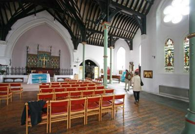 Inside St Clement's Church Notting Dale Lane