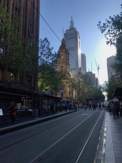 A view of high-rise buildings in Melbourne