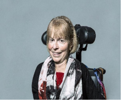 A photo of The Baroness Jane Campbell of Surbiton.