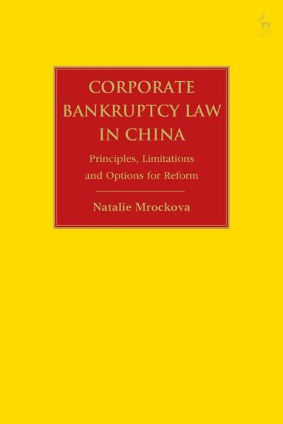 Natalie Mrockova Corporate Bankruptcy Law in China book cover