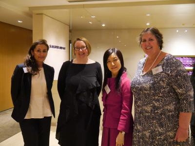 Photo of attendees at the launch of Oxford Women in Law in Hong Kong