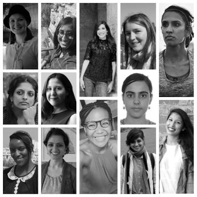 Collage of Rhodes Women at the Oxford Human Rights Hub