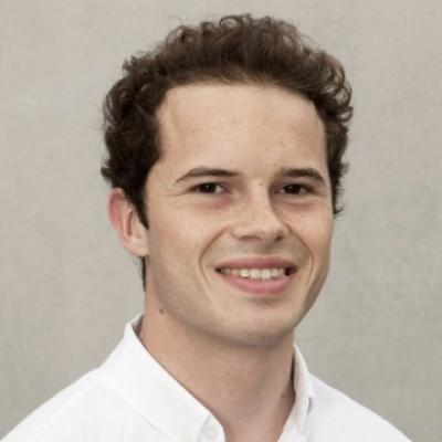 An image of Richard Martin in a white shirt.