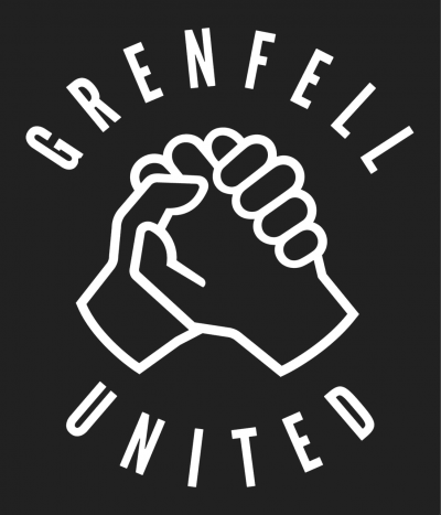 Logo of Grenfell United, survivors' group