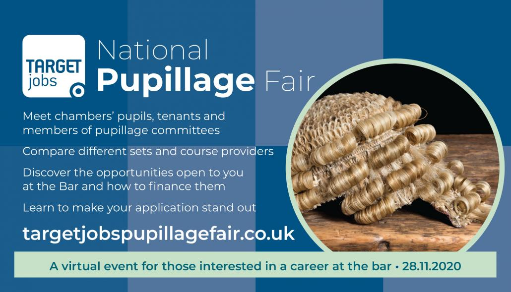 National Pupillage Fair by Targetjobs