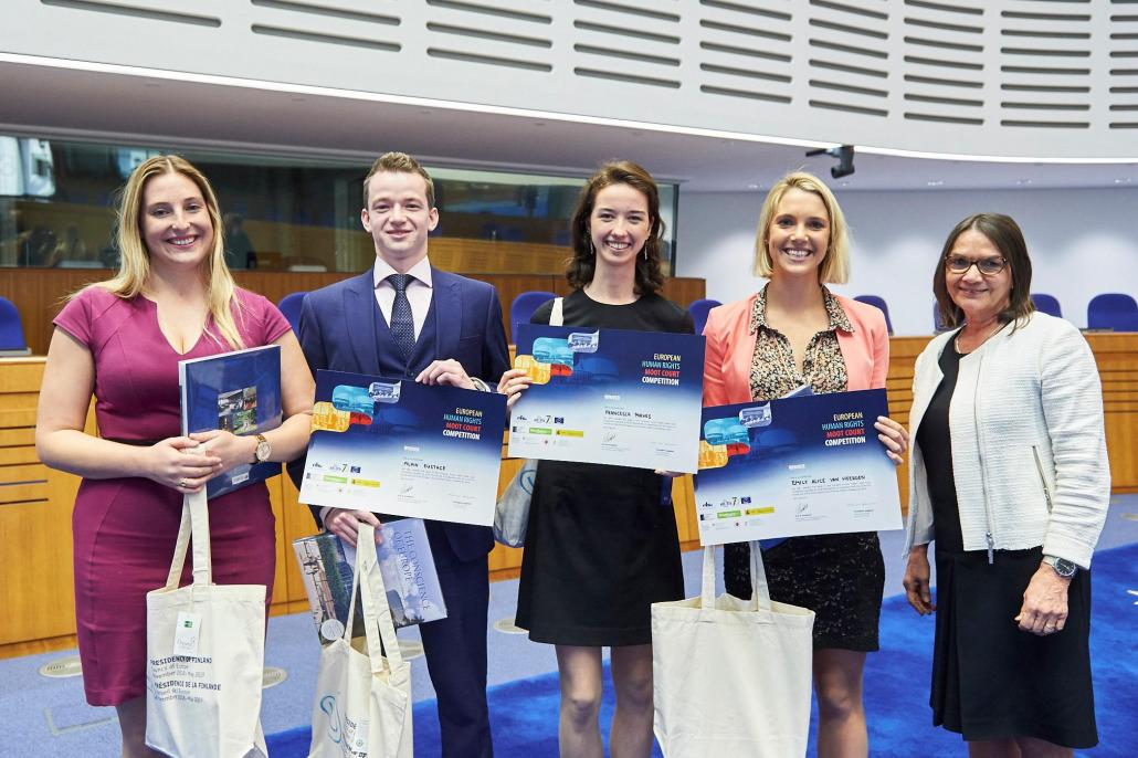 Oxford Law Students win the European Human Rights Moot Court