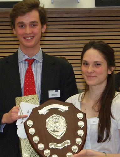 Photograph of french law moot winners 2012