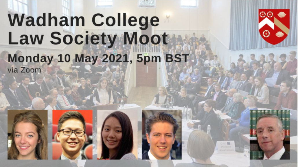 wadham college law society moot