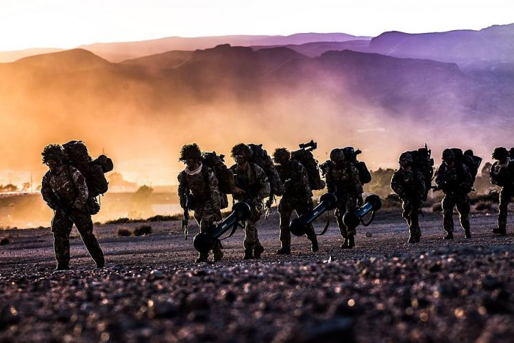 NATO troops training in Spain 2015 (Miks Usans)