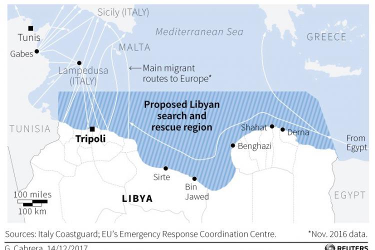 Libya To Italy Map.Pushing Migrants Back To Libya Persecuting Rescue Ngos The End Of