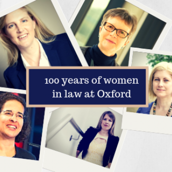 100 Years of Women in Law Collage