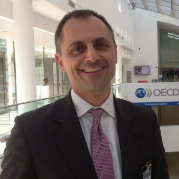 Pavlos Eleftheriadis at the OECD, March 2015