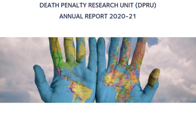 Cover of the DPRU Annual Report 2020-21