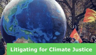 Litigating for Climate Justice