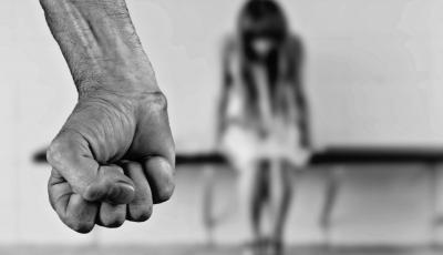 Fist Aggression Abuse Violence against women.