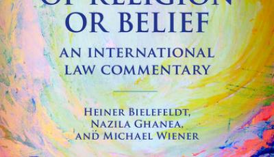freedom of religion or belief book cover