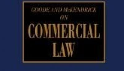 goode on commercial law cover