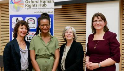 May 2019 - Harassment at work event OxHRH - group photo