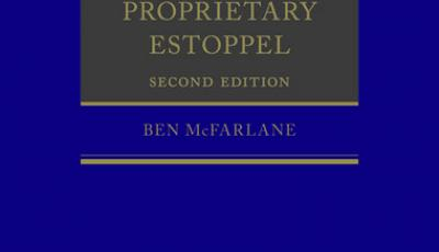 Law of Propriety Estoppel Book Cover