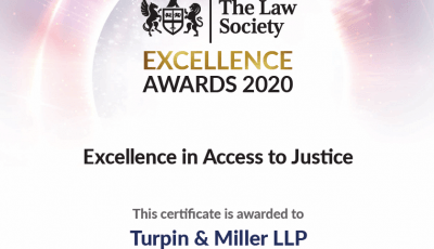 Law Society certificate