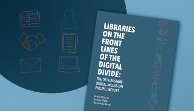 Image of the cover of the Oxfordshire Digital Inclusion Project Report (2021)