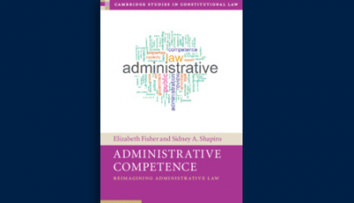 Administrative Competence - Liz Fisher Book Cover