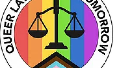 Queer Lawyers of Tomorrow logo