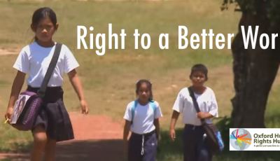 Right to a better world logo
