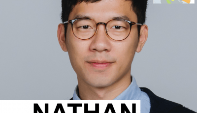 RightsUp cover art featuring Nathan Law