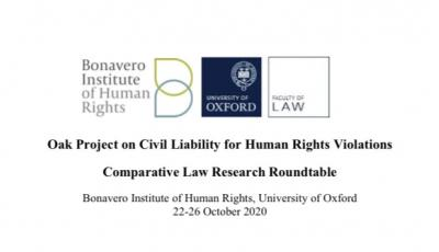 Roundtable on Civil Liability - title of agenda