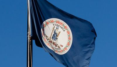 The flag of the U.S. State of Virginia