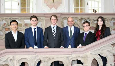 Oxford Law participants at the tenth International Roman Law Moot Court Competition